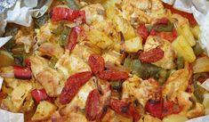 Κλέφτικο κοτόπουλο: Η καλύτερη συνταγή Hawaiian Pizza, Pasta Salad, Food And Drink, Cooking, Ethnic Recipes, Foodies, Crab Pasta Salad, Kitchen, Brewing