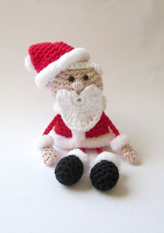 Taschenbaumler Weihnachtsmann - Häkelanleitung