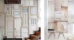Déco porte : 10 idées pour réutiliser une porte vintage !