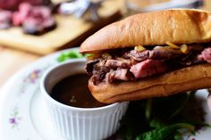 French Dip Sandwiches by Ree (The Pioneer Woman Cooks!) – Recipes – … French Dip Sandwiches by Ree (The Pioneer Woman Cooks! Corn Dogs, Fudge, Blue Cheese Sauce, Corn Cheese, Cheese Bread, Sandwiches, Pioneer Woman Recipes, Pioneer Women, French Dip