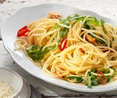 Spaghetti aglio, olio e peperoncino   Betty Bossi