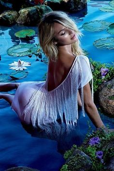 Candice Swanepoel for Forum Spring Summer 2015 Campaign