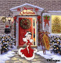 Xmas Photos, Christmas Pictures, The Real Betty Boop, Happy Birthday Greetings Friends, Merry Christmas Quotes, Christmas Time, Kristen Stewart Pictures, Peace Sign Art, Betty Boop Cartoon