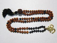 108+1 Black Onyx Mala Beads with Rudraksha Buddhist Prayer Rosary Mogul Interior http://www.amazon.com/dp/B00N0MUSPW/ref=cm_sw_r_pi_dp_YSYpub1PRKDK7