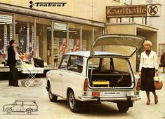 1979 - Trabant 601 S de luxe Universal East German Car, Beast From The East, 2017 Toyota Highlander, Kelley Blue, New Honda, Audi Q7, East Germany, Luxury Suv, Limousine