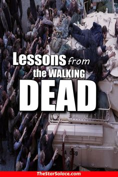 Life Lessons from the WALKING DEAD.....amc, star solace, rick grimes, dixon, motivation, inspiration, teaching