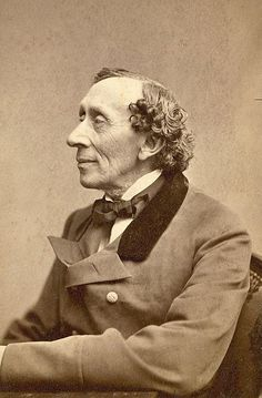 Hans Christian Andersen (April 1805 – August was a Danish author and poet. Although a prolific writer of plays, travelogues, novels, and poems, Andersen is best remembered for his fairy tales. The Little Match Girl, The Little Mermaid, Writers And Poets, Hans Christian, Book Writer, Book Authors, Children's Books, Story Books, Christian Anderson
