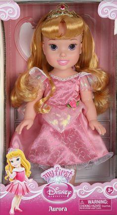 Toddler Aurora - My First Disney Princess - Sleeping Beauty Doll - Pink Dress Disney Princess Toddler Dolls, My First Disney Princess, Disney Barbie Dolls, Disney Animator Doll, Princess Aurora, Disney Descendants Dolls, Disney Princesses, Sleeping Beauty Doll, Toddler Girl Gifts