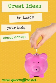 Help your kids learn essential lessons about money with these great resources and simple tips!