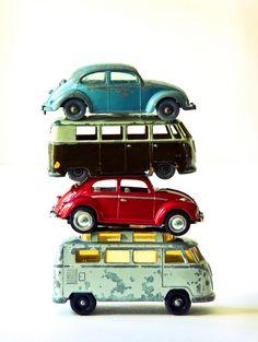 old volkswagen toys Brother had the top one, (red) and the bottom VW bus. Ferdinand Porsche, Vw Cars, Pedal Cars, Vw Vintage, Vintage Toys, Vintage Photos, Volkswagen 181, Volkswagen Transporter, Van Vw