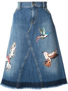 27 Upcycle Clothes Trending Now - Fashion New Trends - 27 Upcycle Clothes Trending Now Clothes The Effective Pictures We Offer You About outfits - Trending Now Fashion, Trending Outfits, Diy Jeans, Blue Denim Skirt, Blue Skirts, Denim Skirts, Denim Ideas, Recycled Denim, Denim Fashion