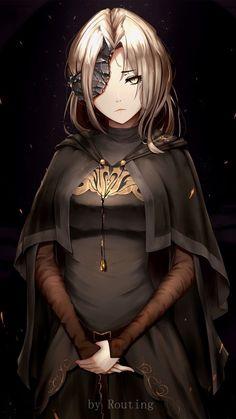 kinda lije it. Sif Dark Souls, Arte Dark Souls, Dnd Characters, Fantasy Characters, Female Characters, Fantasy Character Design, Character Inspiration, Character Art, Cool Anime Girl