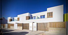 Viviendas adosadas en Granada, España – Construcciones minimalistas 2019