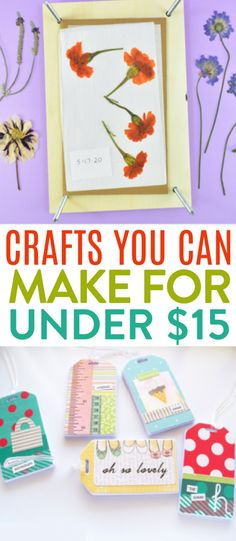 We are super excited to share this list of affordable do-it-yourself projects that are easy to make. So often, we find some really cute craft ideas, but once you buy all the materials, it just costs SO much to make them! You are going to love these crafts for under $15, #diy #crafts #teencrafts #diycrafts #diyprojects #craftprojects Cool Gifts For Teens, Birthday Gifts For Teens, Diy For Teens, Crafts For Girls, Diy Projects For Teens, Fun Projects, Cute Crafts, Crafts To Do
