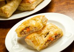 Irish Beef Hand Pies make for easy and handy snacks at a St. Patrick's Day party!