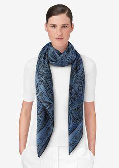 47 meilleures images du tableau Foulard   Scarves, Silk scarves et ... 664c0fdb960