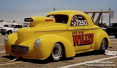 """41 Willys from the movie """"Hot Rod"""""""