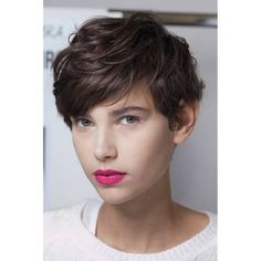 Next hair Hair Styles for Girls Short Wavy Hair, Cute Hairstyles For Short Hair, Pixie Hairstyles, Pretty Hairstyles, Curly Hair Styles, Long Pixie, Pixie Haircuts, Curly Pixie, Wavy Pixie Haircut