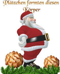 .Weihnachts Express: Plätzchen formten diesen Körper