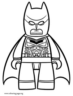 Lego Batman Coloring Pages To Print AZ