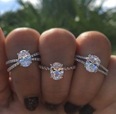 Engagement Rings 2017  Think a classic solitaire is the only no halo engagement ring? Think again!