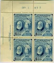Canadian stamps - Celebrating the life of Alexander Graham Bell