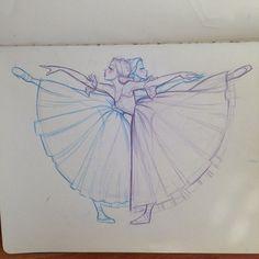 53 Ideas For Dancing Girl Drawing Beautiful Anime Art Ballet Drawings, Dancing Drawings, Cute Drawings, Drawing Sketches, Dancing Sketch, Sketching, Inspiration Art, Art Inspo, Art Ballet