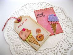 Paper and Craft: MIM 53: Gift Tags with Coaster Chipboard (part 3)