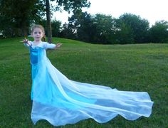 21 DIY Disney Costumes to Make Your Kid For Halloween This Year Elsa Elsa Costume ($92) How to DIY this: blue dress, blue cape, braid, toy tiara, white gloves
