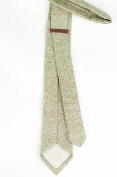 Wool Tweed Necktie - Balmoral