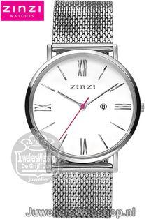 Zinzi Roman Horloge ZIW506M Zinzi Watches Silver Dames. Zinzi Roman dames horloge Edelstaal Zilverkleurig. #horloges #watches #juwelierswebshop