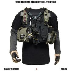 VOLK TACTICAL GEAR BLOG | VOLK 装着例 / 装着装備詳細