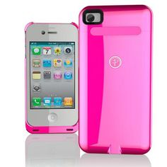 Duracell Powermat iPhone 4/4S Wireless Case - Pink
