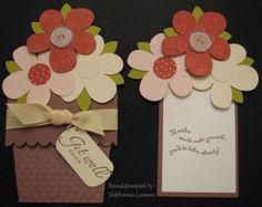 DIY Mothers Day Cards - Flower Pot Pocket Card - Creative and Thoughtful Homemade Card Ideas for Mom - Step by Step Tutorials, Best Quotes, Handmade Projects http://diyjoy.com/diy-mothers-day-cards