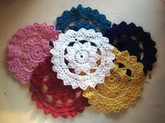 Easy Crochet Doily for Beginners | Doilies are so retro, and now you can make your own in any colour you ...