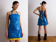 Fashion update: Een jurk gemaakt van een Ikea-tas