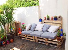 garden furniture - tuinmeubelen van pallets