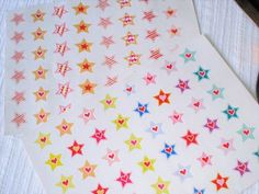 Stars deco stickers.      #stars #planner #paper #stickers #kids #crafts #cards #school #eclp #happy #planner #agenda #diary #journal #calendar #filofax #plum #daydesigner #kikkik #scrapbook #planneradict #planning #journaling