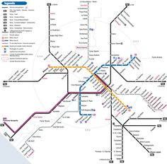 rome metro map pdf Google Search