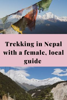 Are you dreaming of trekking in Nepal, when it's safe to do so? Do you want to have a thrilling trekking experience while supporting local women? I had the most amazing time trekking with Hira in the Himalayas, marvelling at majestic ice-capped peaks, crossing picturesque, remote villages. Find out more here. #trekking #nepal #femaletraveller #solotraveller #femalesolotraveller #hiking #responsibletourism #himalyas #naturelover #nepallandscapes Asia Travel, Solo Travel, Everest Base Camp Trek, Travel Guides, Travel Tips, Travel Around The World, Where To Go, Day Trips, Trekking