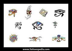 Eye Of Horus Egyptian Tattoos