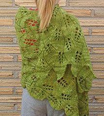 Deciduous - knit shawl pattern