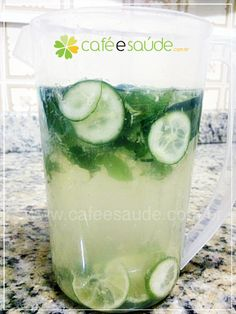 Água Sass Ajuda A Emagrecer E Desinchar | cafeesaude.com.br