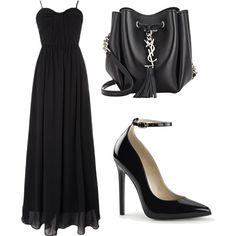 Funeral by prettyiceballos on Polyvore featuring polyvore fashion style True Decadence Yves Saint Laurent
