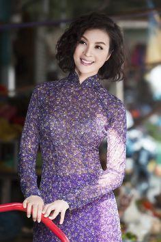 MC Thanh Mai duyên dáng áo dài xuống phố ngày Tết 3