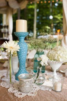 Sarah and Zac's $7,000 Backyard Wedding from IntimateWeddings.com Cute display from Intimate Weddings.com--Real Weddings: