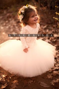 Anagrassia Lace Leotards & Tulle Flower Girl Dresses