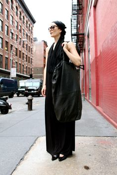 Sometimes Size DOES Matter - Bag by Camilla Stærk - Crosby & Grand (NYC) New York