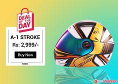 Never before #dealoftheday #helmetlovers http://www.yooshopper.com/product/16453/547/a-1-stroke-black-with-orange?lcId=145431