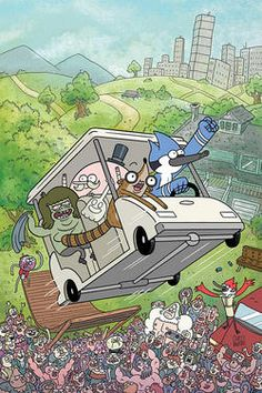 "K.C. Green's ""Regular Show"" is a must see if you are interested in comic based shows like Adventure Time. The show features 11 minute episodes that take you through a high stimulated and action packed journey with lovable characters."